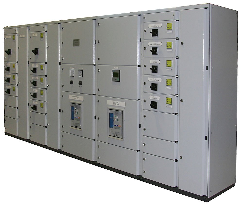 Electric Switchgear Amp Panels