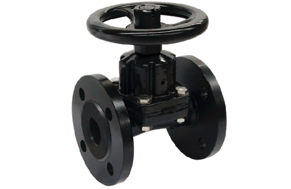 Straight Through Diaphragm Valve